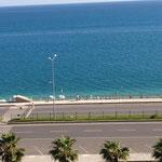 Sehr schmaler Strand :-(