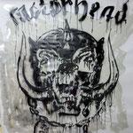 """""""Motörhead"""" , ca. 160cm x 160cm, Aerosol & Lack auf Leinwand"""