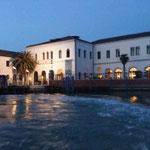 Der Ausstellungsort: Die Venice International University auf San Servolo, Venedig