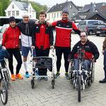 Citylauf, wir kommen! Traingslauf über die Wälle in Attendorn am 5. Mai 2019.