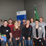 Geehrte Freiburger mit Delegation