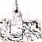 "sketch ""the Empire State Building"" 2006"
