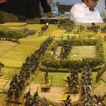 Una panoramica del campo di battaglia