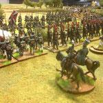 Il fuoco dei coscritti francesi non ferma la linea russa