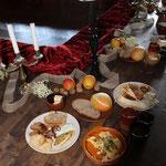 Ein mittelalterliches Frühstück