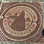 Saeby, découverte de la première plaque