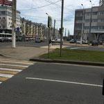 Arrivée dans Kostroma