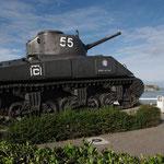 Un char Sherman de la 2ème D.B.