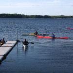 Kayak en fin d'après-lidi