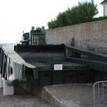 Un élément des ponts flottants
