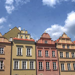 Bel ensemble de façades