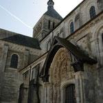 L'Abbaye de Fleury à Saint Benoît ; la basilique