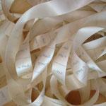 Stoff-Etiketten Satinband - 1-farbig - Sujet by HaSi