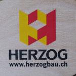 Werbeartikel aus Holz - 3-farbig