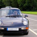 Der Porsche und SL bleiben dran.