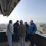 Ausblick auf der neuen Terrasse