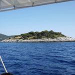 Naturschutzinselchen vor Vela Luka