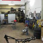2009 - ein Blick in die Werkstatt