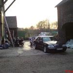 2006 - vor der Werkstatt