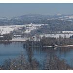 Winterland, Blick über den Greifensee (3639)