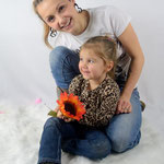 Fall family  session in the studio