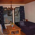 Ferienhaus, Wohnzimmer