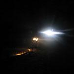 Randonnée de nuit dans le Lot à la lampe de poche