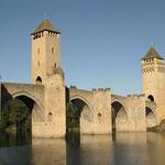 Pont Valentré de Cahors dans le Lot