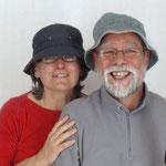 Marie Claude et Jean Michel - L'étape bleue
