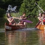 Canoë kayak, activité de pleine nature sur le Célé