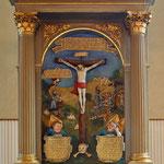 Der Altar aus dem jahre 1558, gestiftet von der Familie von Schönberg