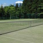 エリア内テニスコート