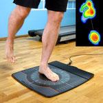 Laufanalyse - dynamische Fußdruckmessung