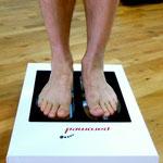 Laufanalyse - digitaler Fußscan