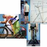 Radanalyse - Körpervermessung und Videoanalyse