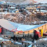 Stampede Stadion - Saddledom