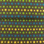 Sterne gelb grün blau