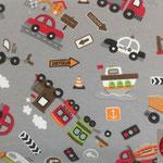 Autos und Verkehrsschilder
