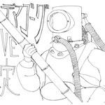 「未定の潜水士」2012年9月