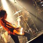 情熱的なギターソロ