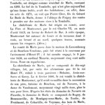 Le Fief de la Tombelle en1271