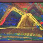 山1、530×455、油彩 キャンヴァス、2016