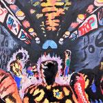 生きる気満々、652×804、油彩 キャンヴァス、2016