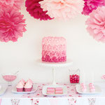 Sweet table baby shower