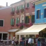 oder Caorle am venezianischen Strand...