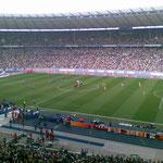 Nichts geht über die Atmosphäre eines gut gefüllten Berliner Olympiastadions