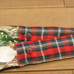 野田琺瑯製のスプーンとスプーン袋 外出用