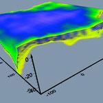 Объем запасов между поверхностью кристаллических пород и дневной поверхностью