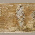 富貴寺大堂南壁外陣小壁(部分)現状模写  2004  http://ci.nii.ac.jp/naid/110006456071/