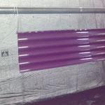 Laquage et peinture d'un volet roulant